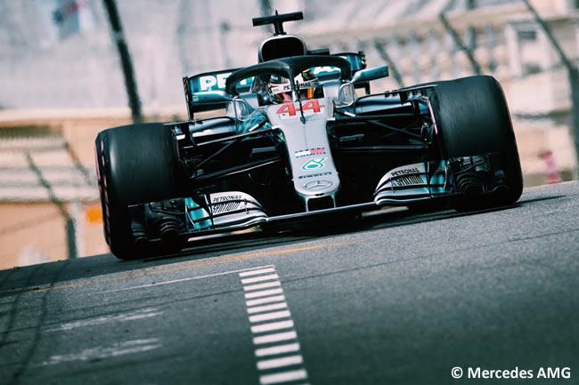 Lewis Hamilton - Mercedes - GP Mónaco - 2018