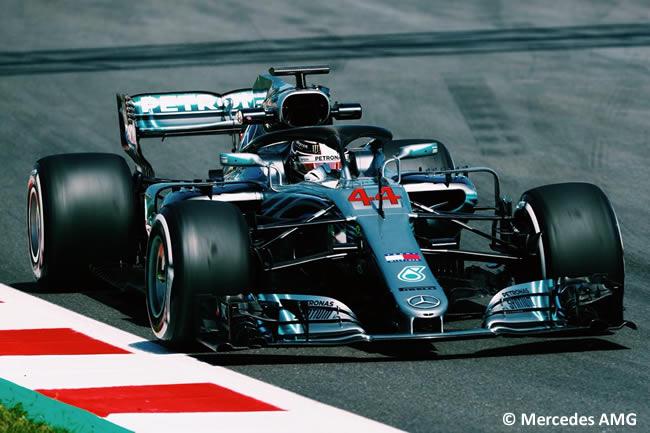 Lewis Hamilton - Mercedes AMG - Test Temporada 2018 - Día 1