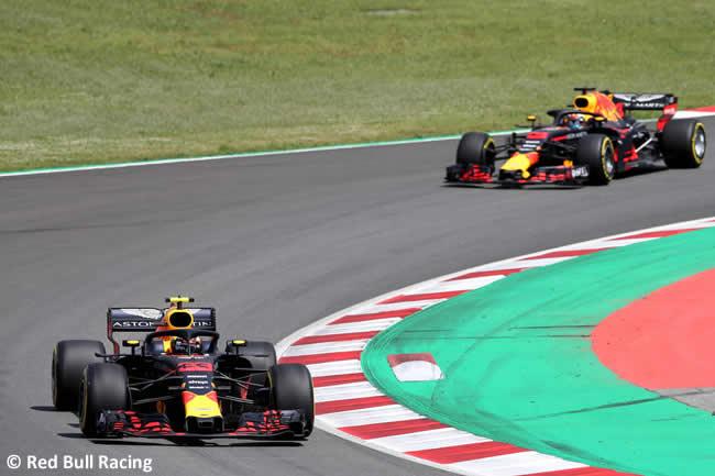 Max Verstappen - Red Bull Racing - Carrera- GP - España 2018