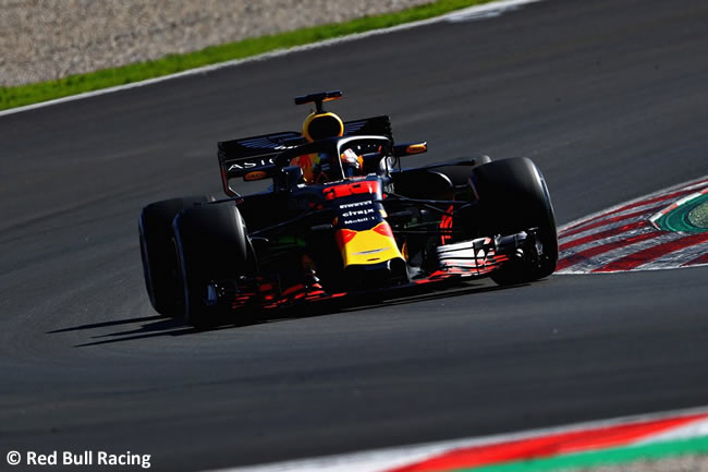 Max Verstappen - Red Bull Racing - Test Temporada 2018 - Día 1