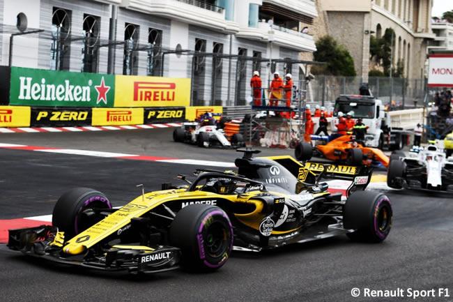Nico Hulkenberg - Renault - Carrera GP - Mónaco 2018