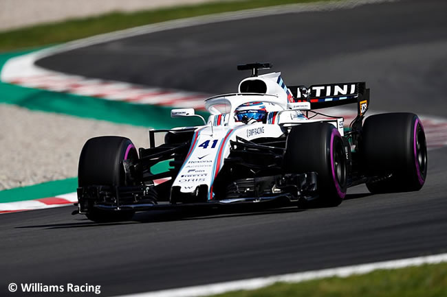 Oliver Rowland - Williams - Test Temporada 2018 - Día 1