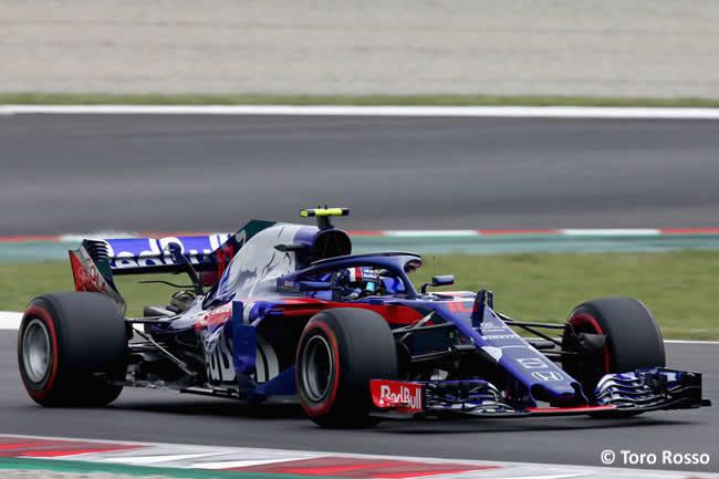 Pierre Gasly - Toro Rosso - Clasificación - GP - España 2018