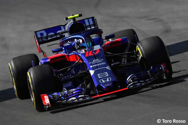 Pierre Gasly - Toro Rosso - Entrenamientos - Viernes - GP - España 2018