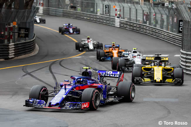 Pierre Gasly - Toro Rosso - Carrera GP - Mónaco 2018