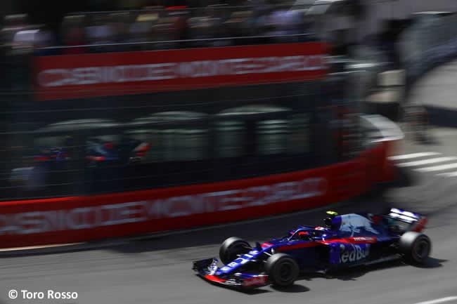 Pierre Gasly - Toro Rosso - Clasificación GP - Mónaco 2018