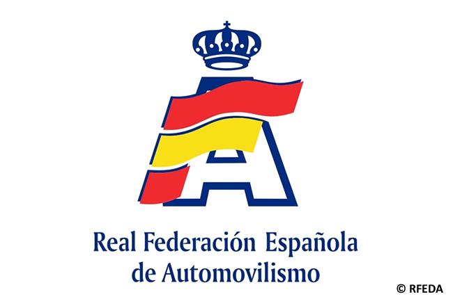 Logo Real Federación Española de Automovilismo