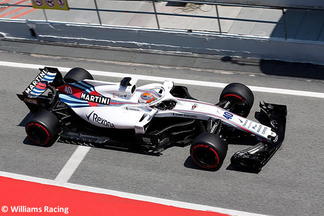 Robert Kubica - Williams - Test Temporada 2018 - Día 2