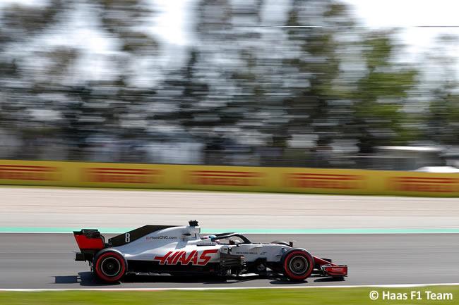 Romain Grosjean - Haas F1 - Entrenamientos - Viernes - GP - España 2018