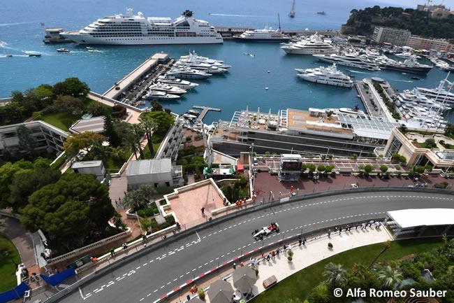 Alfa Romeo Sauber - GP Mónaco - 2018