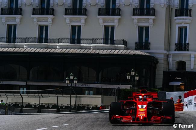 Sebastian Vettel - Scuderia Ferrari - Clasificación GP - Mónaco 2018