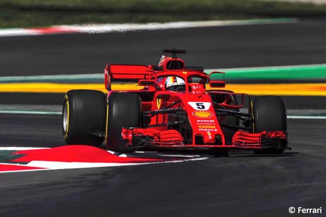 Sebastian Vettel - Scuderia Ferrari - Clasificación - GP - España 2018