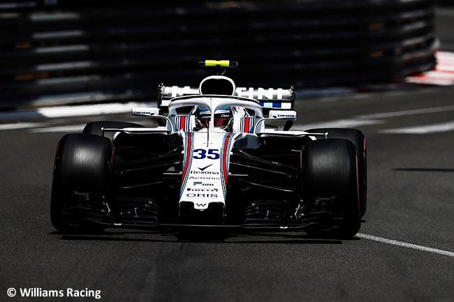 Sergey Sirotkin - Williams - Clasificación GP - Mónaco 2018