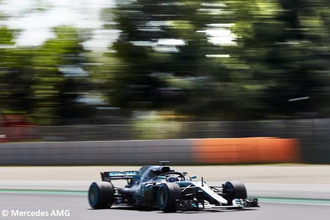 Valtteri Bottas - Mercedes - Test Temporada 2018 - Día 2