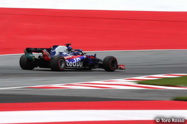 Brendon Hartley - Toro Rosso - GP Austria 2018 - Viernes