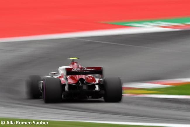 Charles Leclerc - Alfa Romeo - Clasificación - GP Austria 2018