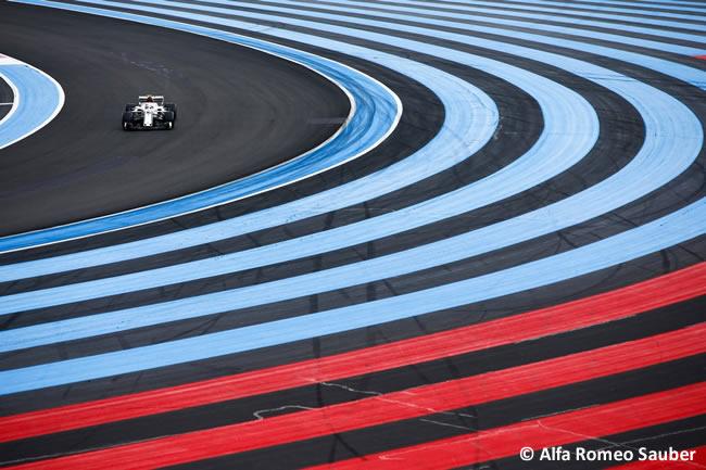 Charles Leclerc - Sauber - Clasificación GP - Francia 2018
