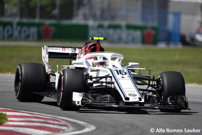 Charles Leclerc - Alfa Romeo Sauber - Clasificación GP - Canadá 2018