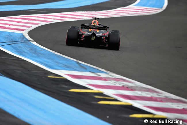 Daniel Ricciardo - Red Bull - Clasificación GP - Francia 2018