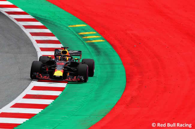 Daniel Ricciardo - Red Bull Racing - GP Austria 2018 - Viernes