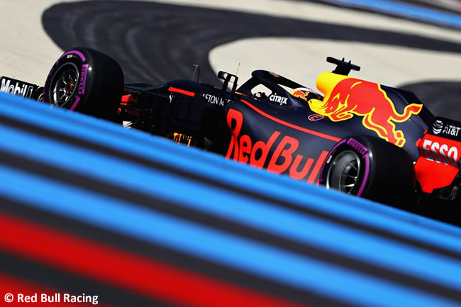 Daniel Ricciardo - Red Bull Racing - Carrera GP - Francia 2018