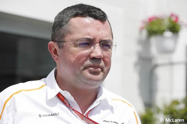 Eric Boullier - McLaren 2018