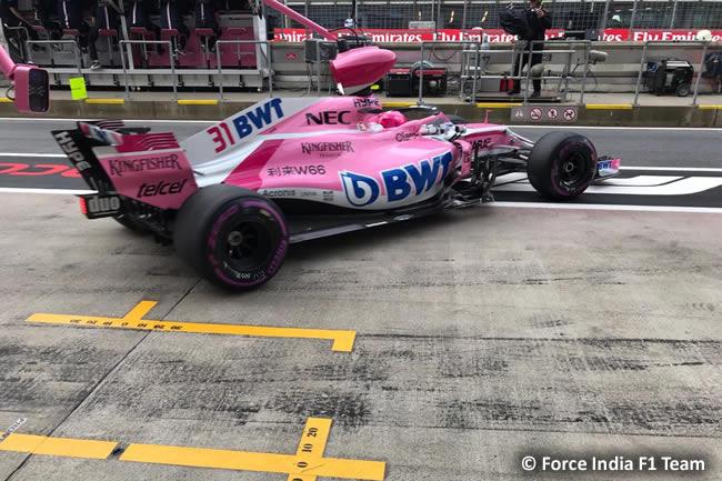 Esteban Ocon - Force India - GP Austria 2018 - Viernes