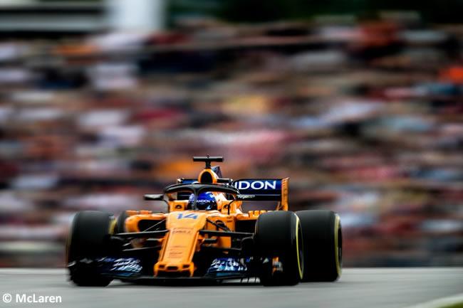 Fernando Alonso - McLaren - Clasificación - GP Austria 2018