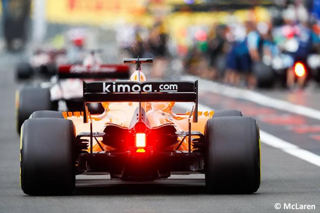 Fernando Alonso - McLaren - Clasificación GP - Francia 2018