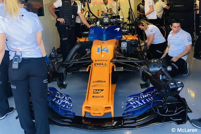Fernando Alonso - McLaren - Clasificación GP - Canadá 2018