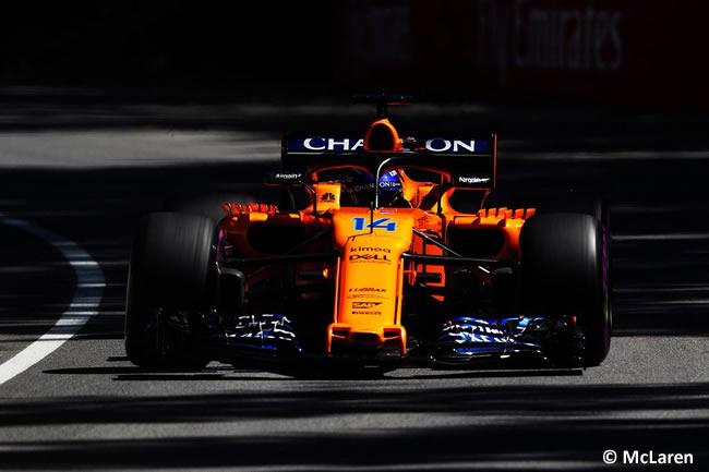 Fernando Alonso - McLaren - Entrenamientos GP - Canadá 2018
