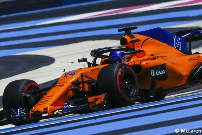 Fernando Alonso - McLaren - Carrera GP - Francia 2018