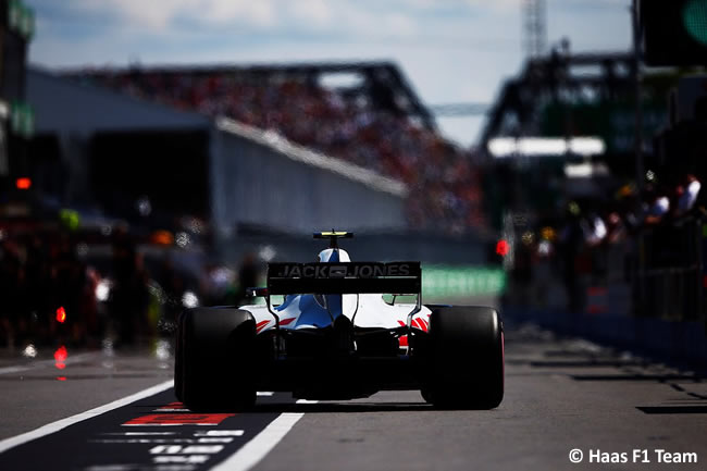 Haas - Carrera GP - Canadá 2018