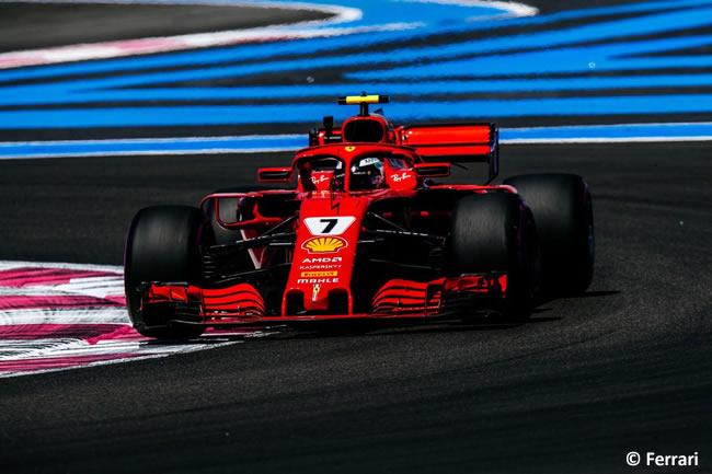 Kimi Raikkonen - Scuderia Ferrari - Carrera GP - Francia 2018