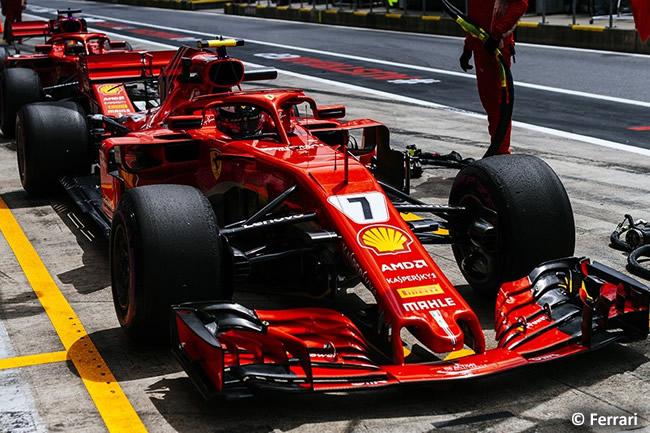Kimi Raikkonen - Scuderia Ferrari - GP Austria 2018 - Viernes