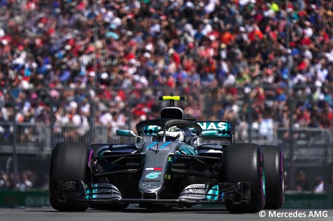 Valtteri Bottas - Mercedes - Clasificación GP - Canadá 2018