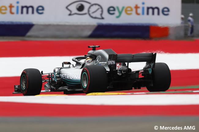 Lewis Hamilton - Mercedes - GP Austria 2018 - Viernes
