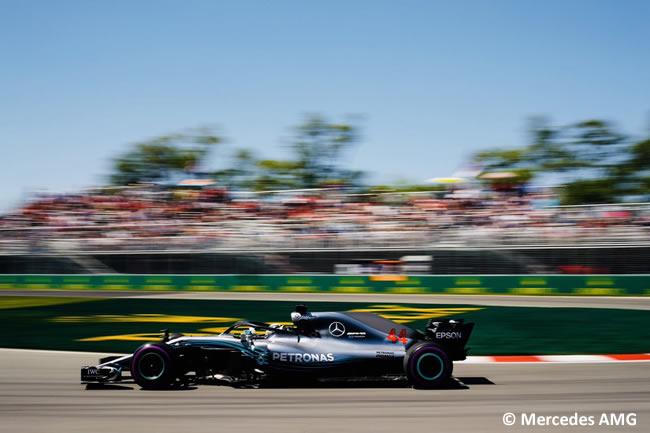 Lewis Hamilton - Mercedes AMG - Entrenamientos GP - Canadá 2018