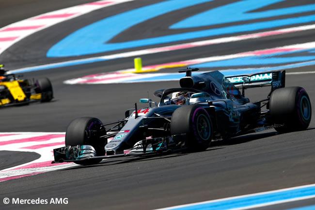 Lewis Hamilton - Mercedes - Carrera GP - Francia 2018