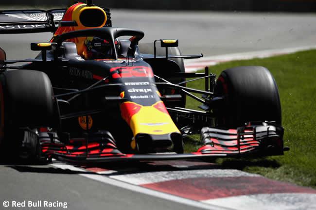 Max Verstappen - Red Bull Racing - Entrenamientos GP - Canadá 2018