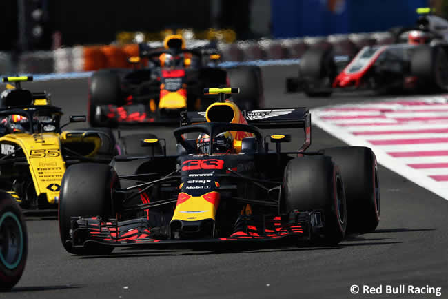 Max Verstappen - Red Bull Racing - Carrera GP - Francia 2018