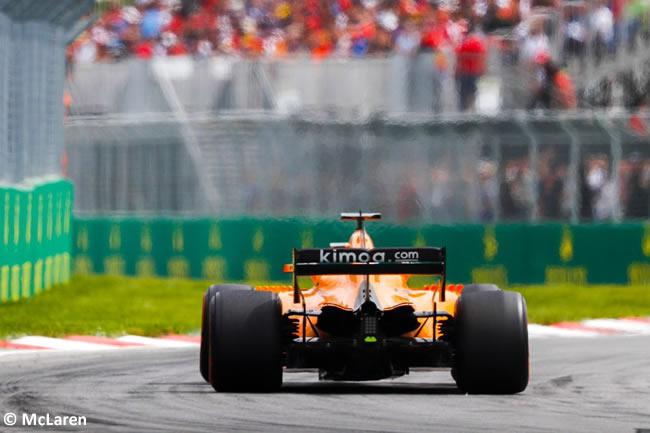 McLaren - Carrera GP - Canadá 2018