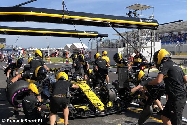 Nico Hulkenberg - Renault - Carrera GP - Francia 2018