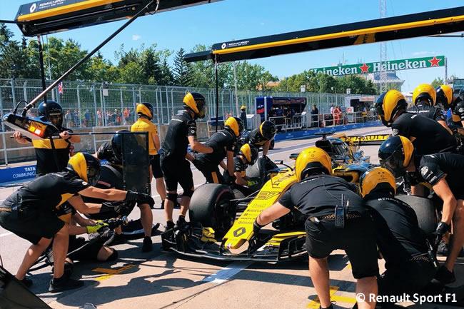 Nico Hulkenberg - Renault - Entrenamientos GP - Canadá 2018