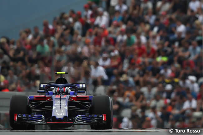 Pierre Gasly - Toro Rosso - Clasificación - GP Austria 2018