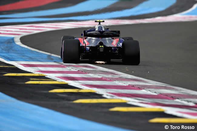 Pierre Gasly - Toro Rosso - Clasificación GP - Francia 2018
