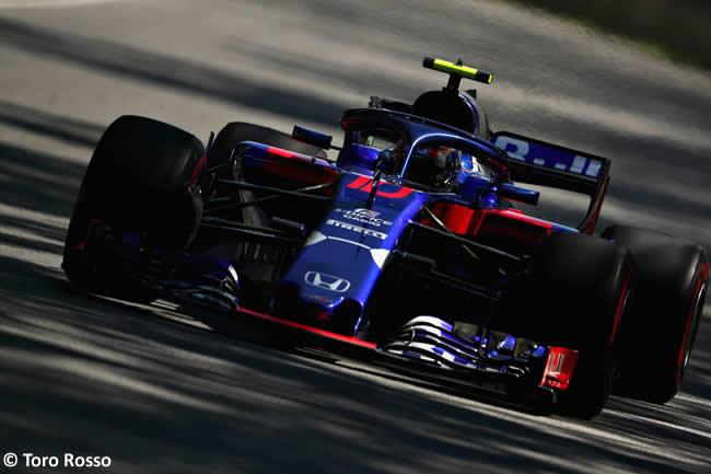 Pierre Gasly - Toro Rosso - Entrenamientos GP - Canadá 2018