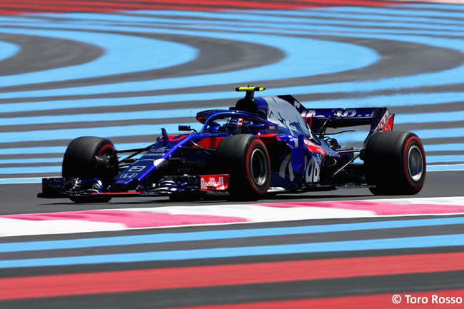 Pierre Gasly - Toro Rosso - Carrera GP - Francia 2018