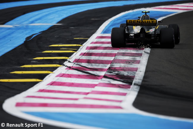 Renault- Clasificación GP - Francia 2018