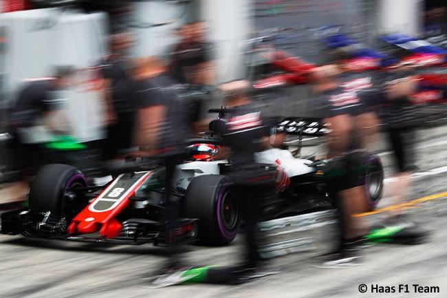 Romain Grosjean - Haas - Clasificación - GP Austria 2018
